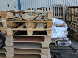 Pallets, MFC and MDF boards, chipboards - perfect for solid fuel stoves and bonfires