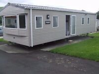 Abi Sunscape 35x12 ft brand new static caravan for sale in Forest of Pendle leisure park, Roughlee