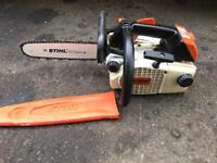 Stihl 020 top handle saw