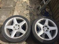 """18"""" Mercedes alloys"""