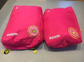 2 pink Hi Gear children's sleeping bags