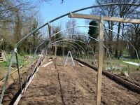 Poly Tunnel size up to 20' by 60' - second hand £200 ONO