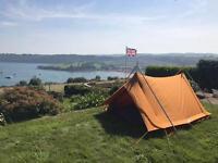 Rare Black & Edginton Arctic Guinea 2 man (3) A frame Tent