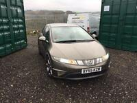 HONDA CIVIC SPORT 12 MONTHS MOT LOW MILES 5dr GREY