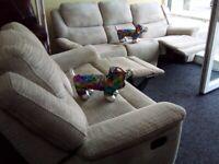 Lazy boy brandnew grey 3&2 recliner