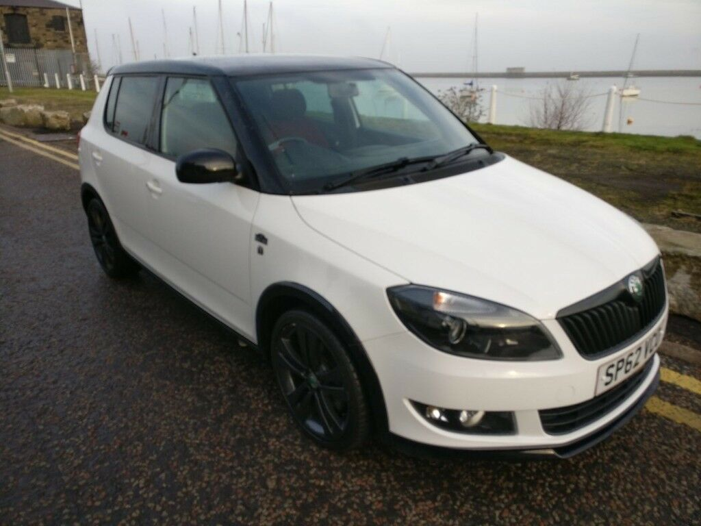 2012 skoda fabia monte carlo 1 2 tsi long mot 17k miles. Black Bedroom Furniture Sets. Home Design Ideas