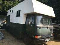 Camper conversion REDUCED (7.5t horse lorry) unfinished project