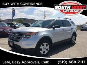 2014 Ford Explorer XLT, LOW KM'S, 4x4, WELL EQUIPPED