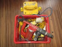 HILTI TE22 + TRANSFORMER AND LEADS