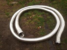 5inch aluminium flue pipe