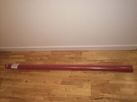Never opened large red thermal blind