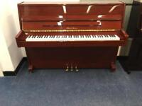 Pearl River Upright Piano Mahogany Gloss finish with 12 month warranty