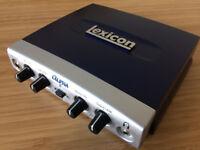 Lexicon Alpha Desktop Recording Studio Audio Interface for Sale!