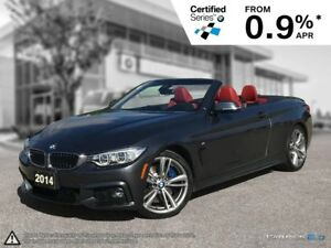 2014 BMW 4 Series 435i Convertible! Premium & Executive Package!
