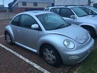 07448726209 Volkswagen Beetle with mot 04/2017