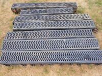 6 x Drain channels and gratings