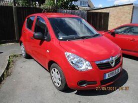 Vauxhall Agila 1000cc Ecoflex 2011 (11 Plate) - 10 Months MOT - 34500 Miles - £30 Tax