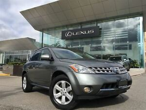 2007 Nissan Murano 1owners Lthr AWD BUcam