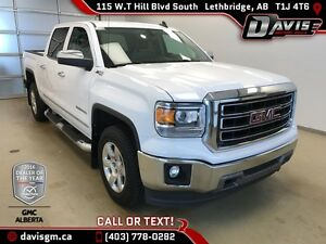Used 2015 GMC Sierra 1500 SLT-4WD-Heated Cocoa Dune Leather