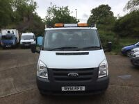 FORD TRANSIT MWB DROPSIDE.2011.ONE OWNER.TAIL LIFT.2.4.READY TO GO