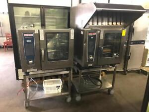 $16,000 rational oven package ( with hood and stand ) electric for only $5000! Save $$$ 2 sets avaiable