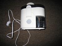 Kenwood 2 speed centrifugal juicer, as new