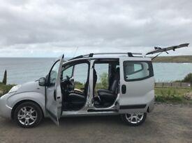 Fiat Qubo 1.3l Diesel 2012 66k MOT FSH HPi Silver 2 Keys 78.5mpg £20 Tax Peugeot Bipper Citroen Nemo