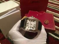 Cartier Santos 100 New With Box And Papers