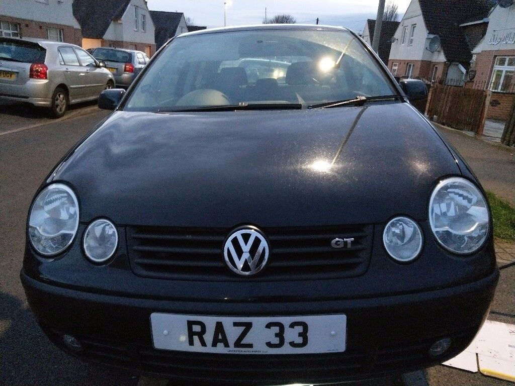 vw polo 1 9 gt tdi pd130 58k miles in leicester leicestershire gumtree. Black Bedroom Furniture Sets. Home Design Ideas