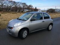 Nissan Micra E 2004, low mileage, 1 previous owner. Reliable car, full service history.