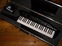 Roland AX-Synth Keytar with SKB Roland hard case