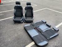 Audi A3 sline sportback 5 door seats half leather cloth sline 8p 2008
