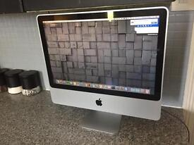 """Apple iMac 20"""" - Mid 2009, 2Ghz Duo, Replaced 320GB HDD, 3GB Ram"""