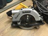 Dewalt D23620-lx 110v circular saw