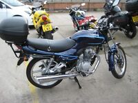 Lifan Mirage LF-125 With Top Box