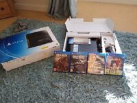 Ps4 and 4 games still in the box