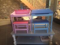 Chidren's Desk and stool set