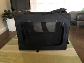 XL Portable canvas pet carrier
