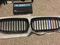 BMW F10 11 grills and tuning box