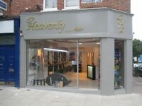 Heavenly hair is a new salon in the heart of Ealing, Pitshanger village.