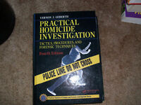 Practical Homicide Investigation by Vernon J Geberth Large Heavy Hardback