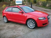 AUDI A3 1600 SPECIAL EDITION 2006 YEAR 55 REG.