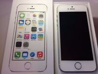 Apple - iPhone 5s - Silver - EE - 16GB - Smartphone - Box And Charger - Like New