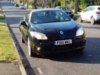 Renault Megane Convertible CC Hardtop Black Diesel Not petrol or Volkswagen Eos Volvo C70 Ford Focus