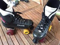 Bauer Roller skates size 5/6