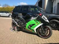 Kawasaki zx10r track bike