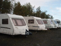 Caravan Storage in West Lothian