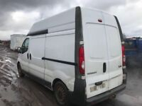 Vauxhall vivaro Renault Trafic spare parts available