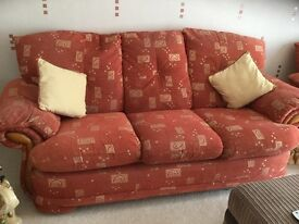 Settee and recliner
