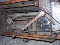 A Vintage Petrol Pump 1930